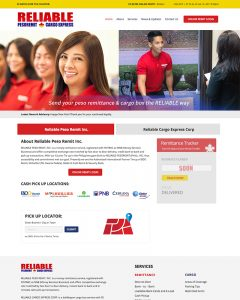 Remmitance Website Design Philippines